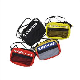 Nuevo PF Cross Body Hip Hop Bolsa Paquete de pecho Paquete de pecho Unisex Paquete de cintura Bolso de los hombres de lona Bolsos de hombro P + F Bolsas de mensajero