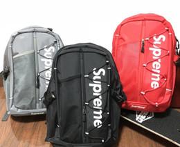 SUP sac à dos de haute qualité 1: 1 designer sac à dos mode Unisexe sac à dos réfléchissant sac