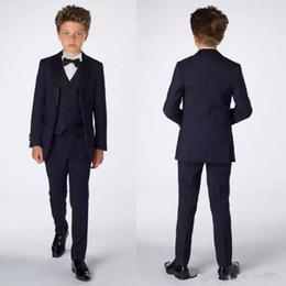 $enCountryForm.capitalKeyWord Canada - Smart Teens Tuxedo Custom Made Children Party Formal Pant Suits Dinner Suits Wedding Groom Tuxedos For Boys(Jacket+Pants+Vest+Bowtie)