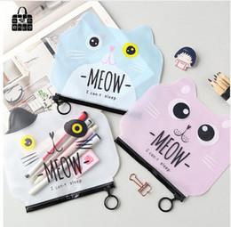 151eb3d9d18 Cartoon diary online shopping - Rose diary new creative cute cartoon cat  cosmetic bag pen bag