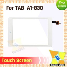 $enCountryForm.capitalKeyWord UK - 50pcs lot High Quality Front Touch Screen Outer Glass Lens For Acer Iconia TAB A1-830 B1-723 A510 Touch screen DHL Free Shiping