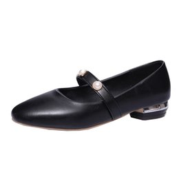 $enCountryForm.capitalKeyWord NZ - Smilice 2018 Woman Casual Pumps with Low Heel and Square Toe Elegant Style Chic Slip-on Shoes with Large Size Available A138
