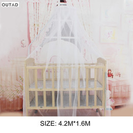 toddler mosquito net 2019 - Baby Bedding Crib Mosquito Net Toddler Baby Care Bed Mosquito Mesh Hung Dome Curtain Net Portable Size Round Summer Hot