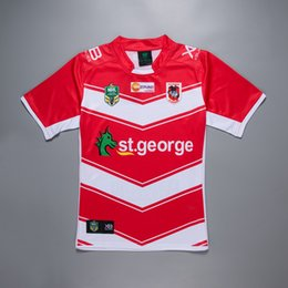george t shirt 2018 - 2018-19 NRL Jerseys St George AWAY Rugby Jerseys Rugby t-shirt new arrival high quality jersey rugby clothes wear free s