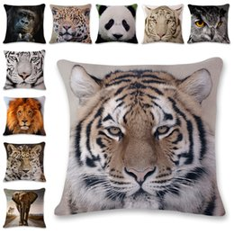 Chinese  New 3D Animals Series Pillow Covers 10 Styles Company Promotional Advertising Gifts Can Be Printed Logo Free Customized Any Pattern manufacturers