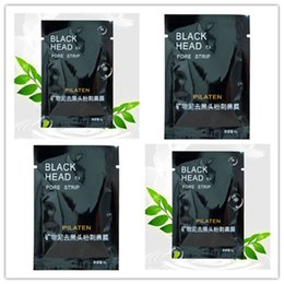 Face Mask Clean Pores Australia - PILATEN Suction Black Mask Face Care Mask Cleaning Tearing Style Pore Strip Deep Cleansing Nose Acne Blackhead Facial Mask Remove Black Head
