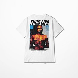 2e2cc558 2pac tee shirts online shopping - 2pac Rap T Shirt Men High Street Summer  Casual Wear