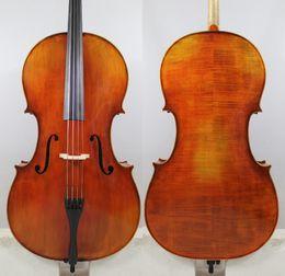 "Discount ebony models - Best model! Stradivari 1700 ""Stauffer Ex Cristiani"" 4 4 Cello Copy! ""All European Wood"" Excellent to"