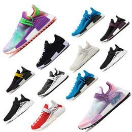 90fdd5a86041d Cheap Wholesale NMD Online Human Race Pharrell Williams X HU NMD women men  Sports Running Shoes