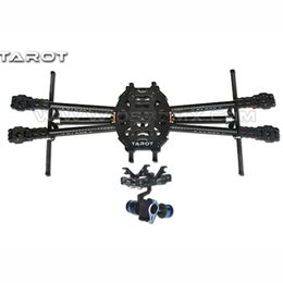 Helicopter frames online shopping - Tarot FY650 K Pure Carbon Fiber Folding mm FPV Quadcopter Frame TL65B01 with Axis BGC TL68A00 Brushless Gimbal T D