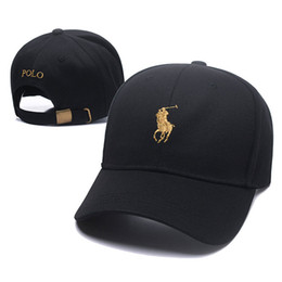Pure black baseball caPs online shopping - Fashion Pure Cotton Peaked hip hop Baseball Golf Caps Embroidered Letter Adjustable men women Casual Snapbacks Sport visor gorras hats