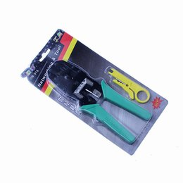 Cat5 tools online shopping - Multi Tool RJ45 RJ11 CAT5 Wire Cable Crimper Crimp PC Network Hand Tools Herramientas OB Pliers