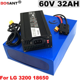 Motor Bicycles Australia - 60V E-Bike Lithium Battery pack 60V 30AH for Bafang 3000W Motor For Original LG 18650 cell 16S 60V Electric Bicycle Battery pack