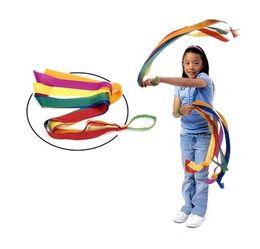 $enCountryForm.capitalKeyWord Canada - Rainbow Dance Ribbons Rhythm Ribbon Streamers For Baby Kids Children Adults - Bright & Multi-colored