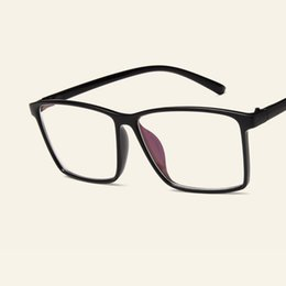 865353c279d2 New Trendy Big Frame Spectacles Men Women Fashion Casual Myopia Glasses  Frames Students Prescription Frame Simple Eyeglasses