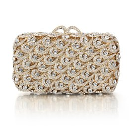 e7893585b257 Buy Quality Designer Handbag Women Evening Clutch Bag for Wholesale Price  Beaded Crystal Evening Bags Golden Silver Black Clutch