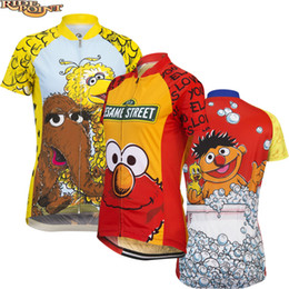Wholesale Women Cartoon Cute Cycling Jerseys Short Sleeve Summer Polyester  Quick Dry Bicycle MTB Dh Clothes Shirts Ropa Ciclismo ed097358a