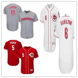 c40d751d0 Johnny Bench Baseball Jerseys Canada - custom Men s Women Youth Majestic Reds  Jersey  5 Johnny