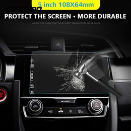 Discount mp5 gps - Vehemo 0.3mm Mp5 Tempered Glass Navigation GPS Screen Protector  Car DVD Protective Films Anti-Scratch Skins