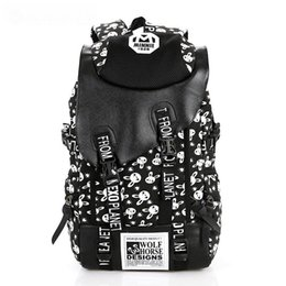2017 Vintage Girl School Bags For Teenagers Cute Dot Printing Canvas Women Backpack Mochila Feminina Casual Bag
