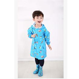 $enCountryForm.capitalKeyWord UK - PVC Children Poncho Raincoat Rainwear Fabric Regenjas Cape De Pluie Coat Impermeable Waterproof Raincoat Clothing QQG224