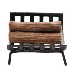 Chinese  1Pcs Miniature Firewood with holder 1 12 Scale Doll house Furniture Figurines Ornaments Gadget Doll Toys Kid Toys For Childern manufacturers