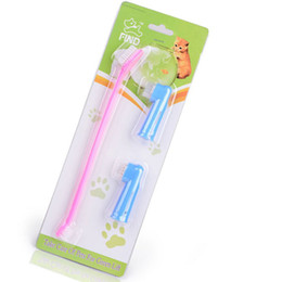 $enCountryForm.capitalKeyWord UK - Dog Toothbrush Cleaning Teeth Puppy Dog Finger Toothbrush Dental Care Grooming For Dog Pet Accessories pet cleaning supplies