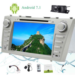 Chinese  Eincar Camera+Android 7.1 2GB+32GB Octa Core 8''Car Autoradio for TOYOTA CAMRY (2007-2012) 2 Din Car Radio Stereo car DVD Player Bluetooth manufacturers