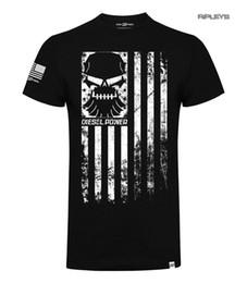 Venta al por mayor de Oficial DPG Camiseta Diesel Power Gear RANK FILE Bandera Negro Todos los tamaños