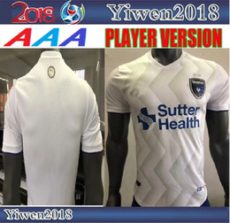 a5150a326b8 San Jose Earthquake Player soccer jersey 18 19 Home white 2018 2019  Sweatshirt Football uniform Wondowlowski Atiba Harris Cordell Cato