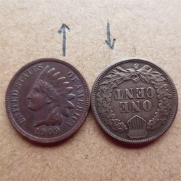 More Coins Australia - United States 1909 Indian Head Cent Copy Coins Free Shipping High Quality old style Copy coin Free shipping