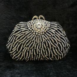 $enCountryForm.capitalKeyWord Canada - green black white Evening Bags Diamond Rhinestone Pearls Beaded Day Clutch Women's Purse Handbags Wallets Evening Wedding Bag