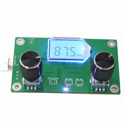 frequency module NZ - WeiKdez DSP PLL Digital Stereo FM Radio Receiver Module 87-108MHz With Serial Control Frequency Range 50Hz-18KHz