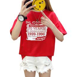 Best Wholesale T Shirts Australia - Fashion Blusas 2018 Summer Best Friends T Shirt Korean Ulzzang Harajuku Letter Short Sleeve Cotton Tshirts Women Casual Tops Tee