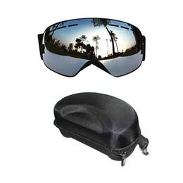 6f074ebc2 COPOZZ Professional Óculos De Esqui Camadas Duplas UV400 Anti-fog Grande  Máscara De Esqui Óculos de Esqui Homens Mulheres Snow Snowboard Óculos de  Proteção