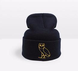 Fashion Designer Drake Ovoxo Winter Warmer Hat Skullies Slouchy Beanies  Unisex Knitted Hat Mens And Womens Skull Hip Hop Cap Hair Bonnets 166df695da09