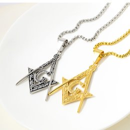 Pendant designs gothic online shopping - Fashion Jewelry Neo Gothic Letter Pendants Necklaces For Men L Stainless Steel Chunky Chain Tower Designed Neckalce for men