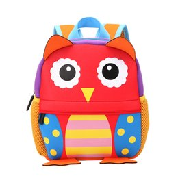 Kids & Baby's Bags 2019 Cute Canvas Mini Backpack For Kids Girls Cartoon Monkey Irregular Shoulder Bags Children Student School Bagpack Mochila