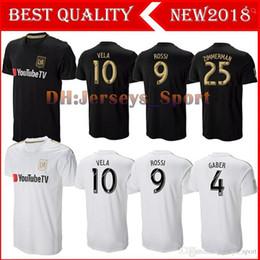 9c93a332e Thailand 2018 2019 Carlos Vela Los Angles FC Soccer Jerseys 18 19 Home  Black away LAFC GABER ROSSI CIMAN ZIMMERMAN Football soccer Shirt
