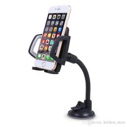 Верхнее качество Long Arm Windshield мобильный мобильный держатель кронштейна для мобильного телефона для вашего мобильного телефона Подставка для iPhone GPS MP4