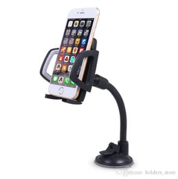 Chinese  Top Quality Long Arm Windshield mobile Cellphone Car Mount Bracket Holder for your mobile phone Stand for iPhone GPS MP4 manufacturers