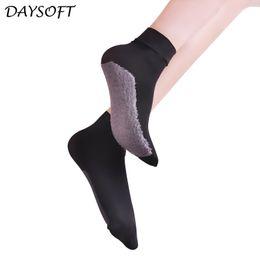 socks slip soles 2019 - DAYSOFT 10 Pairs lot Smooth Velvet Silk Womens Summer Socks Meias Soft Cotton Bottom Non Slip Sole Wicking Sexy Sock Cal