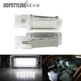Car Lights Australia - For VW Golf 5 6 Golf Plus Jetta Passat CC EOS Scirocco Tourage Sharan LED Car footwell light canbus no error code auto accessory