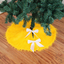 $enCountryForm.capitalKeyWord NZ - High quality Gold Christmas Tree Skirts Dress Home Party Merry Christmas Decorations Drop Ship New 110202