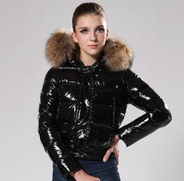 $enCountryForm.capitalKeyWord NZ - 2018 New France brand Wholesale Price Women's Down Coat Winter Jacket Hoodie With Big Fur Outlet Factory Free Shipping