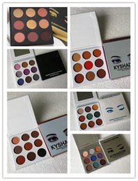 Ky online shopping - Hot makeup palette Brand Ky shadow colors Eye shadow Palette The Sorta Sweet Palette Bronze Burgundy Holiday Purple Blue DHL shipping
