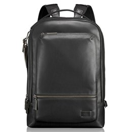 b3ca9062be80 Genuine Leather TUMI Harrison 63011D Men Business Backpack Outdoor Casual  High Quality Ballistic Nylon Rucksack Laptop Bag