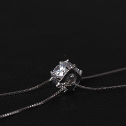 $enCountryForm.capitalKeyWord NZ - Charms 925 sterling silver pendant necklace long Pearl Sweater chain zircon Fashion sets jewelry valentines day gift women China Direct
