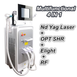 AlexAndrite lAser hAir removAl mAchines online shopping - OPT SHR elight Nd yag Laser RF in machine Alexandrite Laser Hair Removal Machines ipl laser skin rejuvenation machine