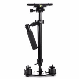 Steadycam Dslr Camera NZ - Freeshipping S40 S60 S80 Steadycam Scalable Carbon Fiber Handheld Stabilizer Steadicam for Canon Nikon Sony DSLR Camera Compact Camcorder